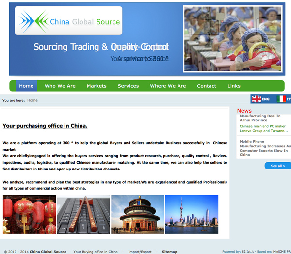 China Global Source