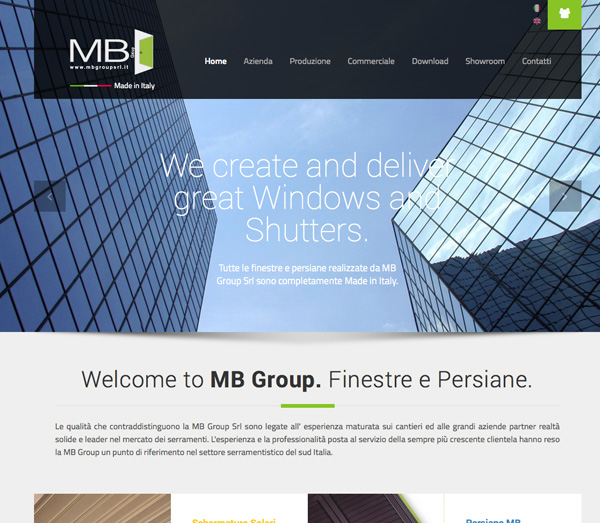 MB Group Srl - Finestre e Persiane