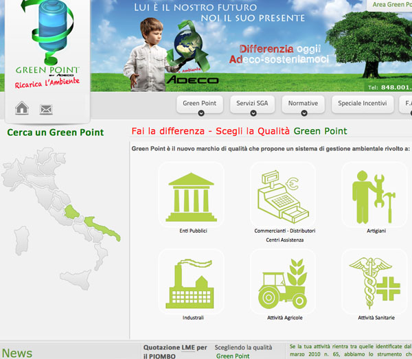 Progetto Green Point