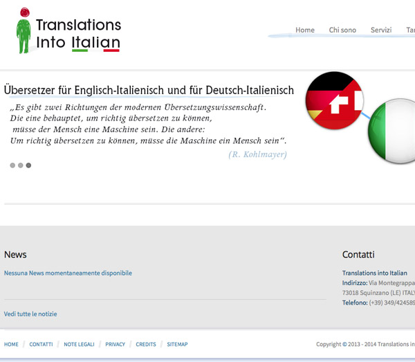 Translations Into Italian: Soluzioni Software Integrate E Web Solutions